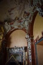 Detalle de capilla Virgen de Valvanera.
