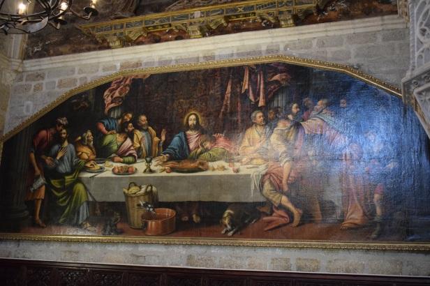 Orozco. La Última Cena. 1634. Cartuja de El Paular.