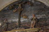 Calvario gótico. Cartuja de El Paular.