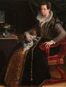 Lavinia Fontana: Retrato de Constanza Alidosi. Washington, National Museum of Women in Arts.