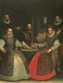 Lavinia Fontana: Retrato de la Familia Gozzadini. Bolonia, Pinacoteca Nacional.