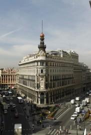 El edificio Canalejas antes de su intervención. Foto: Wikimedia Commons.
