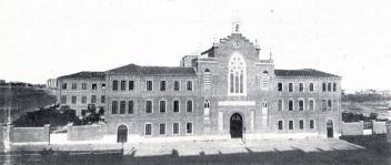 Antiguo edificio neomudejar del Sagrado Corazón en la calle Claudio Coello. Foto: IPHE.