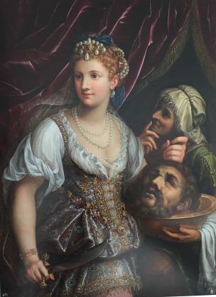 Fide Galizia: Judit con la cabeza de Holofernes. ca. 1596-1610. Patrimonio Nacional.