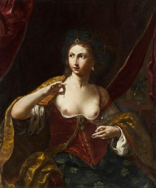 Elisabetta Sirani: Cleopatra. Flint Institute of Arts. Michigan (EE.UU.) Foto: wikicommons.