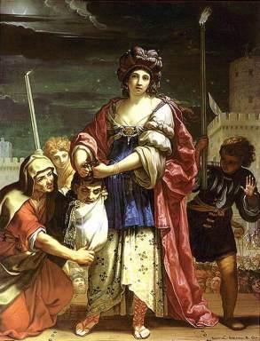Elisabetta Sirani: Judith con la cabeza de Holofernes. Lakeview Museum of Arts and Sciences. Ilinois (EE.UU.) foto: wikicommons.