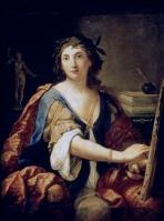 Elisabetta Sirani. Autorretrato. Museo Pushkin. foto: wikipedia.