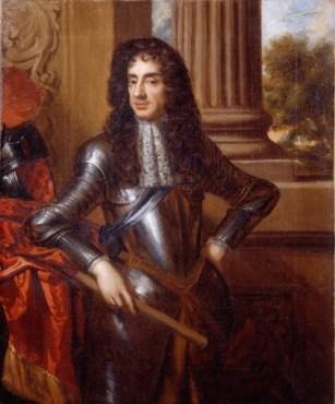 Peter Lely y Mary Beale: Retrato de Carlos II de Inglatera.