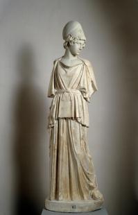 Taller romano: Atenea. Siglo I. Madrid, Museo Nacional del Prado.