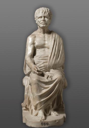 Anónimo: Filósofo Epicúreo, siglo II. Madrid, Museo Nacional del Prado.