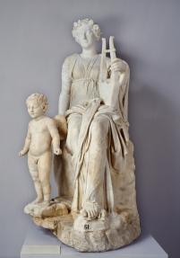 Anónimo: La Musa Erato. Madrid, Museo Nacional del Prado.