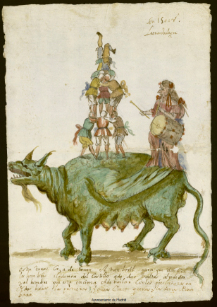 Leonardo Alegre: Tarasca para el Corpus de 1672. Madrid, Archivo de la Villa.