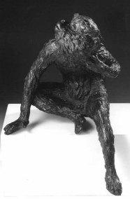Giambologna: Mono. Museo del Louvre. París. Foto: Web del Museo del Louvre.