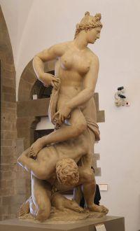 Giambologna: Florencia vencedora de Pisa. Museo del Barguello. Florencia. Foto: wikicommons.