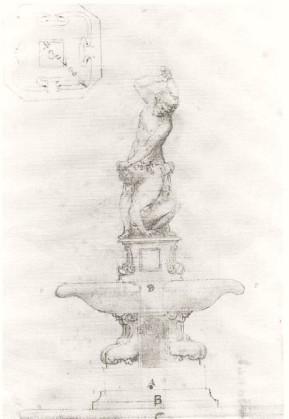 Anónimo. Sansón y el filisteo. ca. 1604. Gabinete de Dibujos y Estampas. Uffizi. Florencia.