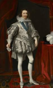 Daniel Mytens: George Villiers Duque de Buckingham. National Maritime Museum (BHC2583). Londres. Foto: www.artuk.org