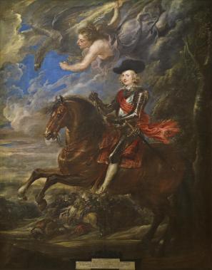 Pedro Pablo Rubens: Cardenal Infante don Fernando en Nördlinguen. Madrid, Museo Nacional del Prado.