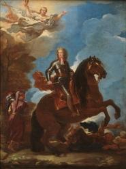 Luca Giordano: Carlos II a caballo. Madarid, Museo Nacional del Prado.