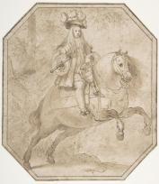 Matías de Torres: Carlos II a caballo. New York, Metropolitan Museum.