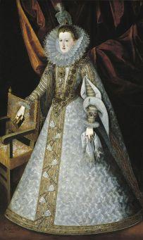 Juan Pantoja de la Cruz: Margarita de Austria. Madrid, Museo Nacional del Prado.