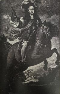 Taller Real: Carlos II niño a caballo. Colección Arenaza.