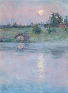 Verano noche (1894) Elin Danielson. Foto: wikipedia.
