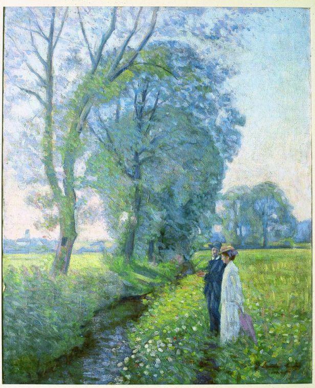 Paseo (1906) Elin Danielson. Foto: wikipedia.