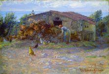 Cobertizo en Antignano. Elin Danielson. Foto: wikipedia.