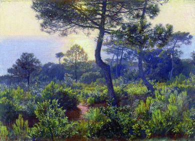 Atardecer (1905). Elin Danielson. Foto: wikipedia.