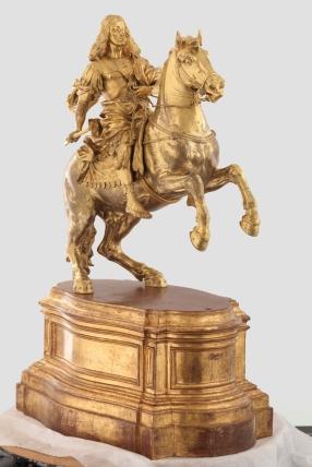 Giovanni Battista Foggini: Carlos II a caballo. Madrid, Museo Nacional del Prado.