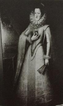 Juan Pantoja de la Cruz: Margarita de Austria. Antiguo cat. del Prado nº 2930.