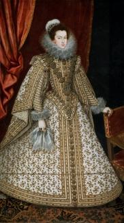 Rodrigo de Villandrando: Retrato de Isabel de Borbón. Antiguo cat. del Prado de nuevas adquisiciones nº 508. En la actualidad en el Museo Nacional del Prado de Madrid.