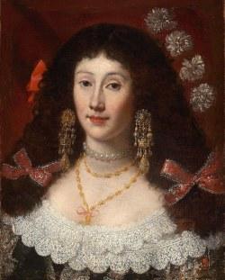 Juan Carreño de Miranda, atribuido a: Retrato de Dama. Boston, Museum of Fine Arts.
