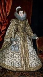 Rodrigo de Villandrando: Isabel de Borbón. Madrid, Museo Nacional del Prado.