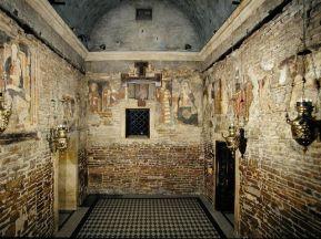Interior de la Santa Casa de Loreto. Foto: http://www.santuarioloreto.it