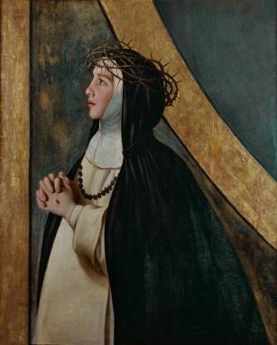 Juan Bautista Maíno. Santa Catalina de Siena. Museo del Prado. Madrid.