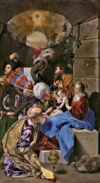 Juan Bautista Maíno. Adoración de los Magos. Museo del Prado. Madrid.
