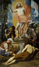 Juan Bautista Maíno. Resurrección. Museo del Prado. Madrid.
