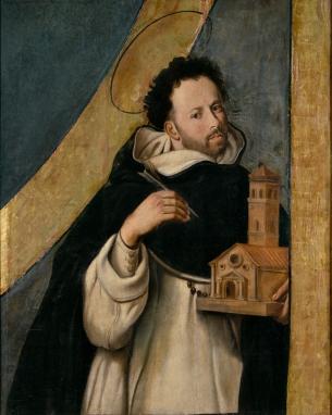 Juan Bautista Maíno. Santo Domingo. Museo del Prado. Madrid.