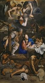 Juan Bautista Maíno. Adoración de los pastores. Museo del Prado. Madrid.