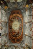 Bóveda de la escalera de las Descalzas Reales. Foto: Artículo de Miguel Morán Turina señalado en texto.
