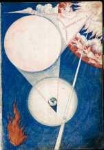 Francisco de Holanda: Creación del día y de la noche. De Aetatibus Mundi Imagines. Madrid. BNE.