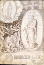 Francisco de Holanda: Pecado original. De Aetatibus Mundi Imagines. Madrid. BNE.