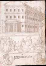 Francisco de Holanda: Juicio de Salomón. De Aetatibus Mundi Imagines. Madrid. BNE.