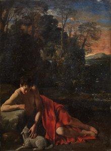 Juan Bautista Maíno. San Juan Bautista. Madrid, Museo Nacional del Prado.