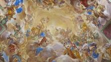 Luca Giordano: Detalle de la escalera de El Escorial. Foto: Wikimedia Commons.