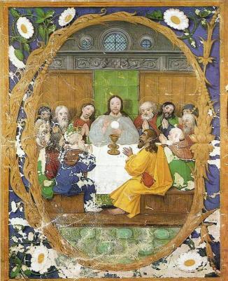 Francisco de Holanda: Santa Cena. Foto: wikicomnos.