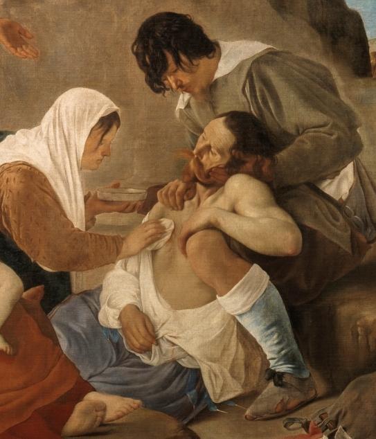 Juan Bautista Maíno. La recuperación de Bahía (detalle). Museo del Prado. Madrid.