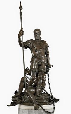 León Leoni: Carlos V y el furor. Museo del Prado.