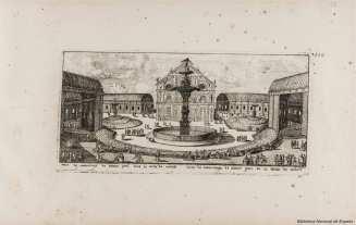 Louis Meunier: La ermita de San Pablo en el Buen Retiro. Biblioteca Nacional.